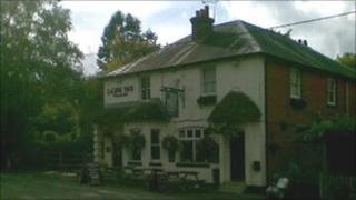 The Lamb Inn in Nomansland
