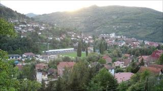 Foca, southeastern Bosnia