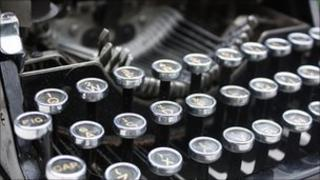 Haunted typewriter, Phil Hawksworth