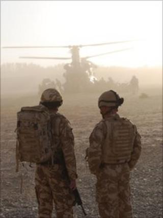 Members of 3rd Battalion, The Rifles on duty in Afghanistan - Pic Will Roberts