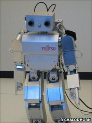 Brain-controlled robot (R. Chalodhorn)