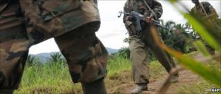 The Rwanda army in DR Congo