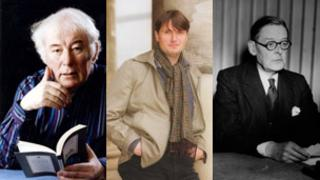 Poets: Seamus Heaney, Simon Armitage and TS Eliot