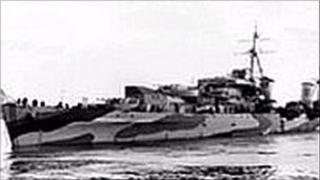 HMS Charybdis. Pic: Leigh Bishop