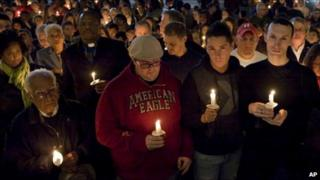 Candlelight vigil for Tyler Clementi at Rutgers University