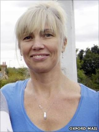 Sharon Duval (pic courtesy of Oxford Mail)