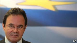 "Greece""s Finance Minister George Papaconstantinou"