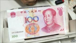 Yuan notes - file pic