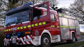 South Yorkshire fire service engine