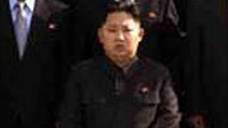 Photo released by North Korean state media that purports to show Kim Jong-un