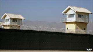 Detention centre at Bagram airbase