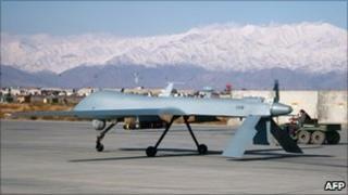 A drone aircraft