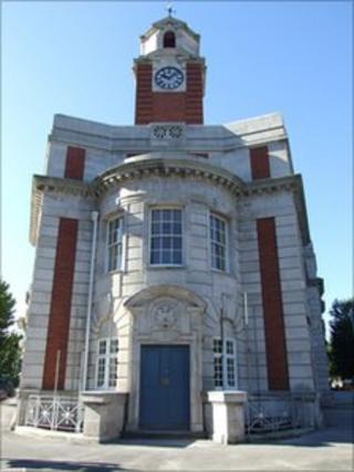 Llys Glas, former Swansea central police station