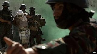Yemen special forces in training - Jan 2010