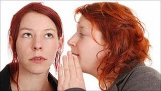 Whispering secret