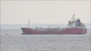 Guernsey States-owned tanker Sarnia Cherie