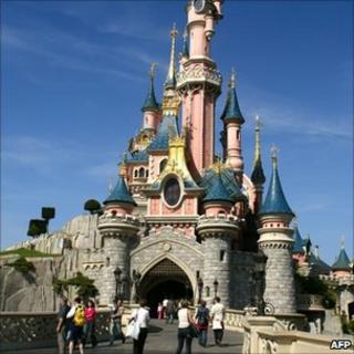 Disneyland Paris (file picture)