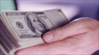 US bank notes (file image)