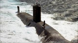 HMS Triumph. Pic: MoD