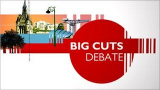 Big Cuts debate logo