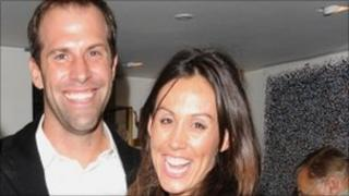 Greg and Lucy Rusedski during the launch of her new book You Know More Than You Think - archive image