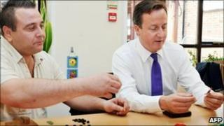 David Cameron at Combat Stress