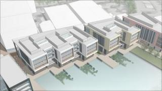 Telford's new civic offices