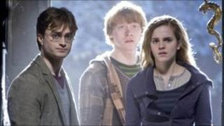 (From left) Daniel Radcliffe, Rupert Grint and Emma Watson