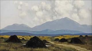The Bog Road by Paul Henry
