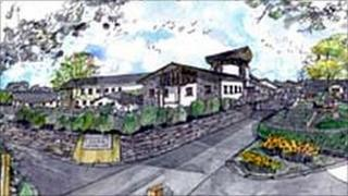 Little Harbour Hospice - artist sketch