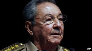 Raul Castro, 6 October 2010