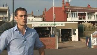 Matt Hellier at Bexhill Rowing Club
