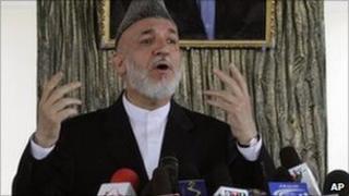 Afghan President Hamid Karzai. Photo: October 2010