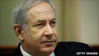 Israeli Prime Minister Benjamin Netanyahu - 10 October 2010