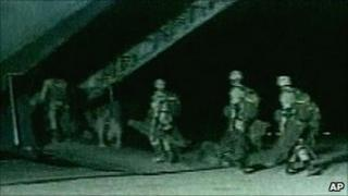 US special forces on night operations in Afghanistan
