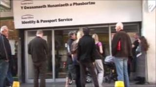Newport passport office