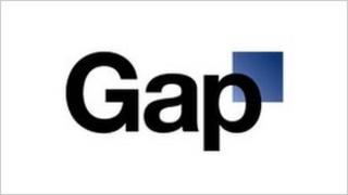 The scrapped Gap logo