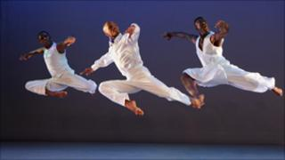 The Alvin Ailey American Dance Theater