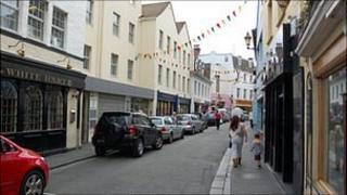 Lower Pollet in Guernsey