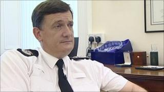 North Yorkshire chief constable Grahame Maxwell