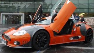 Spyker sports car