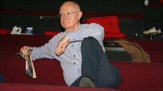 Edward Bond at rehearsals
