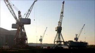 Clyde shipyards