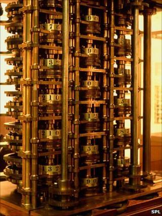 Babbage's original difference engine