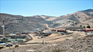 The rescue effort involved running three drilling operations at once at the San Jose mine