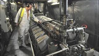 Condor ferry engine