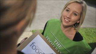The Trussell Trust operates 71 foodbanks across the UK