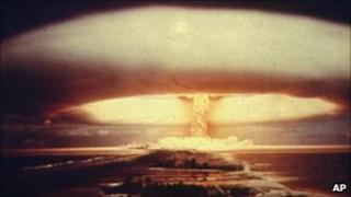 Nuclear explosion, AP