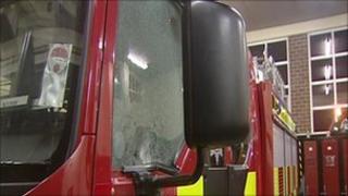 Antrim fire engine