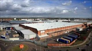 JLR's Castle Bromwich plant